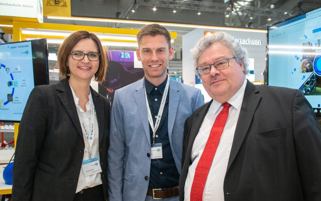 Innovationen für ressourcenschonende Produkte – SmartPro-Netzwerk präsentierte sich auf der Hannover Messe