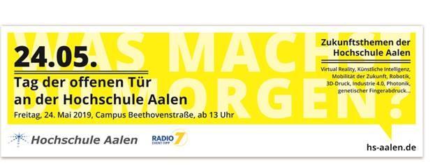 Tag der offenen Tür an der Hochschule Aalen am 24.05.