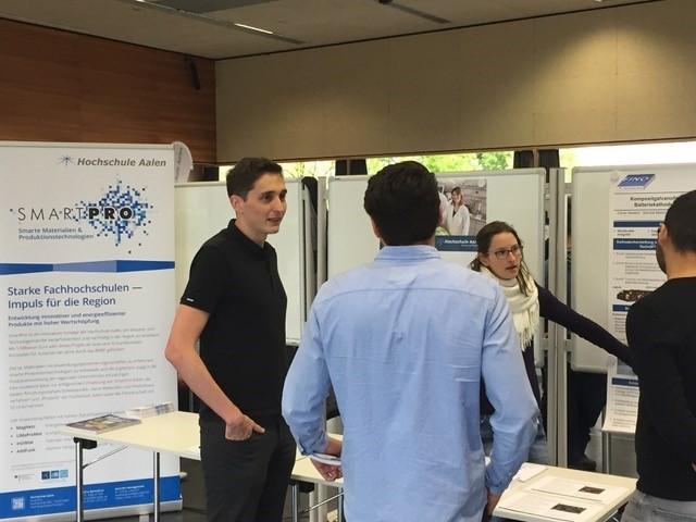 SmartPro und KarMen auf der Mastermesse der Hochschule Aalen