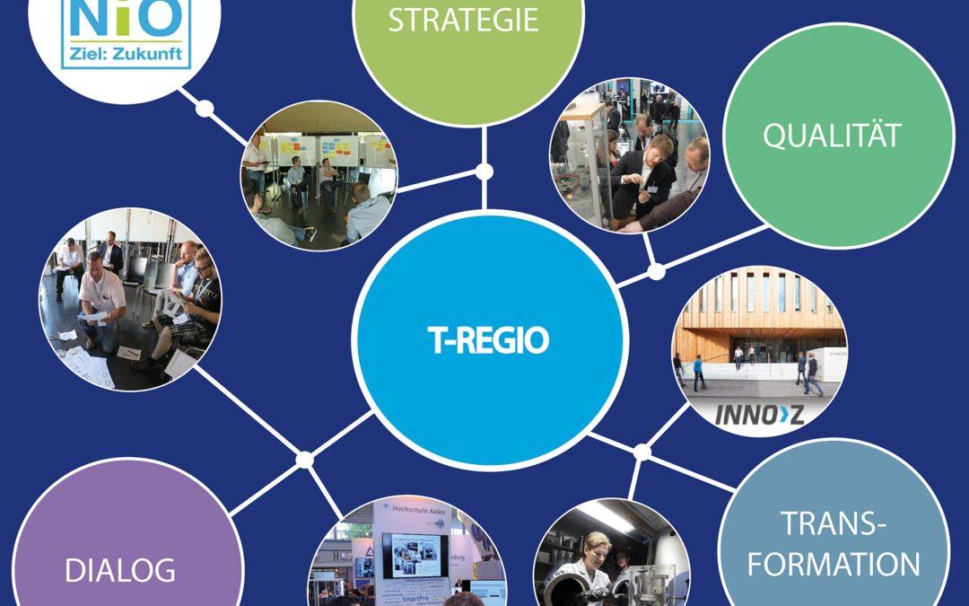 """T-REGIO Vortragsreihe – Transfer und Innovation:     """"Zukunft denken – Ideen aus der Innovationsforschung"""""""
