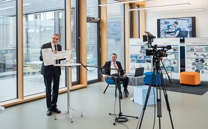 SmartPro-Forscher ziehen in neue Forschungsgebäude ein